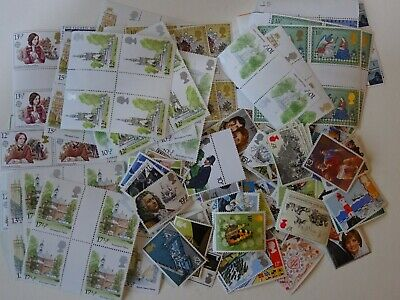 GB mint stamps for postage - £25.00 face value - full gum...(16)