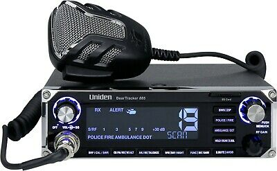 Uniden Beartracker 885 Hybrid CB Radio and digital Scanner With GPS Receiver