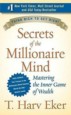 Secrets of the Millionaire Mind by T Harv Eker Paperback NEW Book