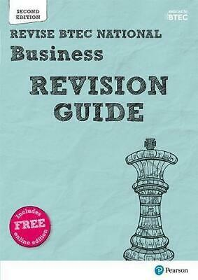 Revise BTEC National Business Revision Guide by Diane Sutherland and Jon Sutherl