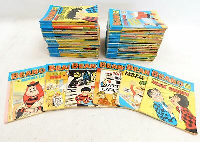 Huge Collection of 83 Vintage BEANO & DANDY COMIC BOOKS - 1980s - E02