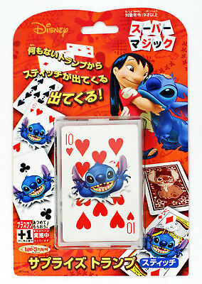 Tenyo Japan 115145 SURPRISE CARD DISNEY LILO & STITCH (Magic Trick)