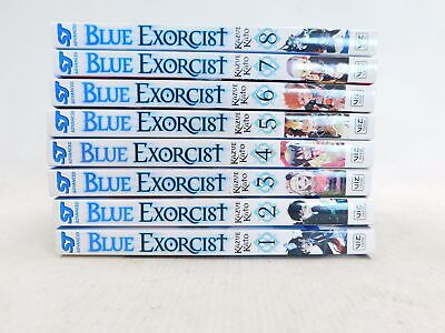 BLUE EXORCIST By Kazue Kato Manga Paperback Books Vol 1-8 Viz Media - L38