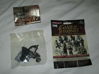 Game of Thrones Jon SNOW attacking McFarlane Builds Blind Pack #2 sealed in bag
