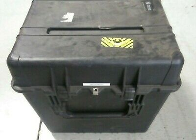 "Pelican Model 0370 Storage Case ~ 24"" Cube W/ Foam Inserts..Free Shipping"
