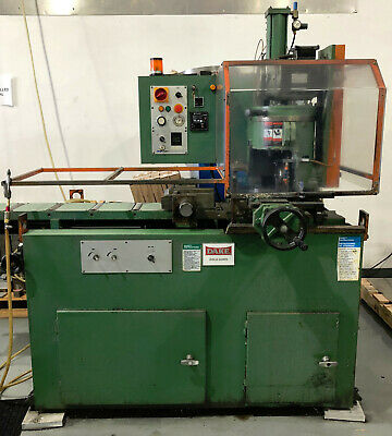 """1998 DAKE Automatic Cold Saw Euromatic 370A PP Non-Ferrous 14.5"""" Blade"""