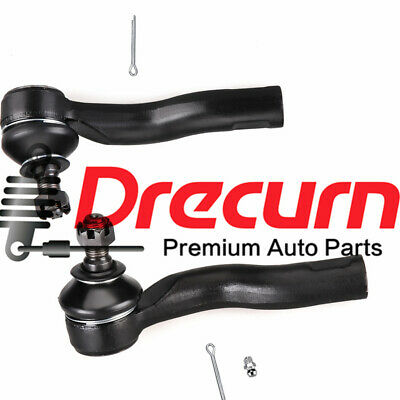 2Pcs Front Outer Tie Rod End For 2001-2005 Lexus IS300