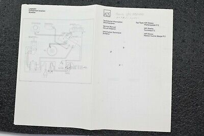 ADS P2 Turntable Service Manual with Schematics, Procedures, Parts List