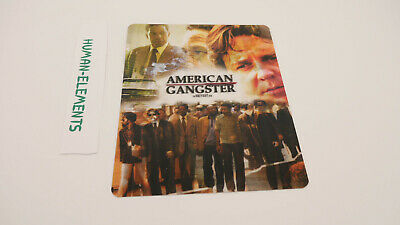 AMERICAN GANGSTER - Lenticular 3D Flip Magnet Cover FOR bluray steelbook