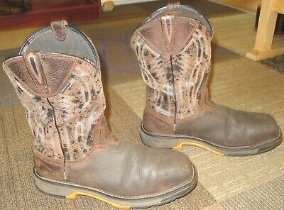 8e467ce8e79 MENS ARIAT WORKHOG XT Dare Carbon Toe Leather Work Boots sz 13 EE