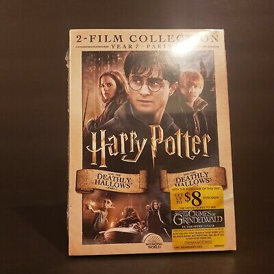 Harry Potter And The Deathly Hallows 1 & and 2 (DVD) BRAND NEW & SEALED