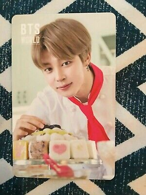 Bts - World Ost Official Jimin Double Sided Photo Card Kpop