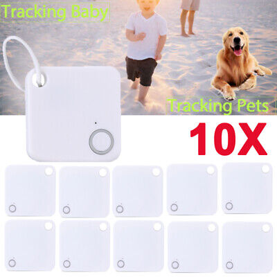 Lot10 Mini GPS Bluetooth Tracker Key Pet Finder Locator iPhone Android Google US