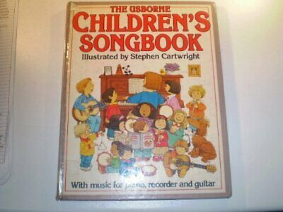 Children's Songbook (Usborne songbooks) by Amery, Heather Hardback Book The