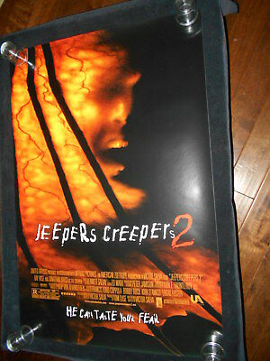 Jeepers Creepers 2 Original Rolled One Sheet Poster Horror