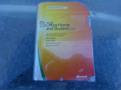Microsoft Office Home And Student 2007 In Retail Box