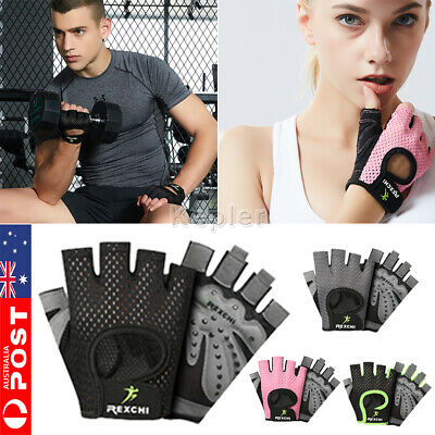Ladies Fitness Gym Training Gloves Half Finger Gel Weight Lifting Workout Gloves