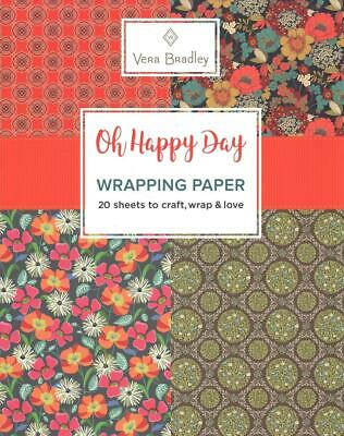 Vera Bradley Oh Happy Day Wrapping Paper by Vera Bradley (English) Paperback Boo