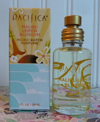New In Box - Pacifica Perfume - Malibu Lemon Blossom 1 Oz Edp Mist