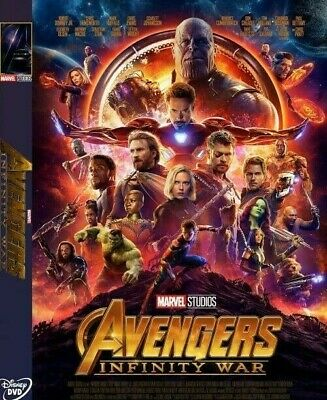 Avengers: Infinity War HD 1080p DVD New* Plus Free Shipping & Gift