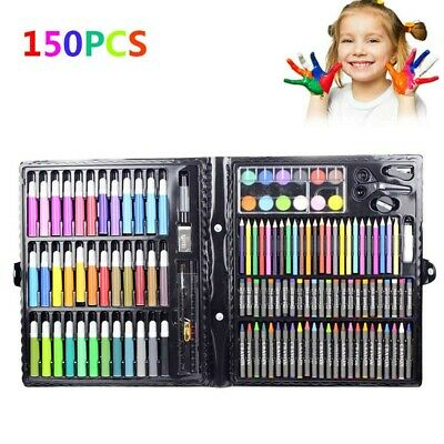 150pcs Water Color Pen Drawing Painting Art Crayon Set for Kids Crafts Kit Gift