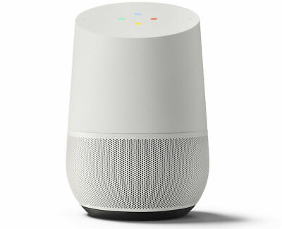New Google - Home Smart Speaker - White Slate