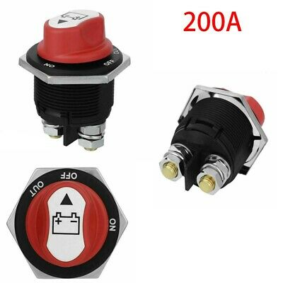 Motorsport Van Marine Single Battery Isolator // Cut off switch for Car