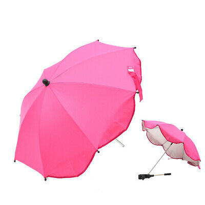UK Universal Sun Shade Kids Baby Parasol Pram Pushchair Stroller Buggy Umbrella
