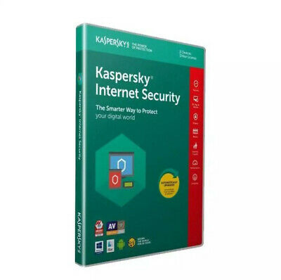 Kaspersky Internet Security 2019 - 1 PC 1 AN - Clé d'activation/Activation key