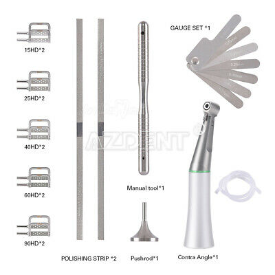 Dental 4:1 Reduction Interproximal Stripping Handpiece Sets Fits ISO E type
