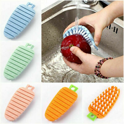 1PC Multi-functional Cleaning Fruit Vegetable Brush Tool  Kitchen Gadgets Wash
