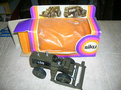 VINTAGE - SIKU 2210 Michigan Planiertraktor Militär in Box 70er/80er Jahre