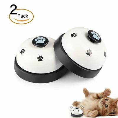 Galaxer Dog Training Bell, 2 Pack Dog Press Bell for Small and Larger Dog Potty