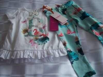 TED BAKER BABY GIRLS OUTFIT 12/18 M.LIST UNDER TED BAKER.B.N.W.T.START.99p.UK ON