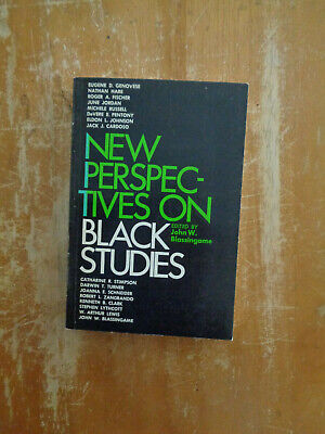 New Perspectives on Black Studies by John W. Blassingame SC