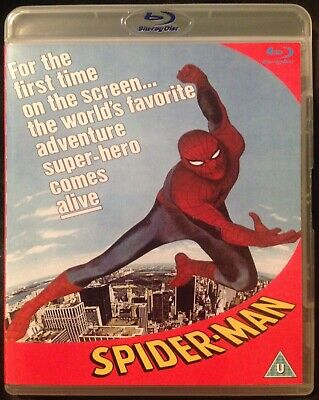 The Amazing Spider-Man 1970's T.V. Series Blu-ray