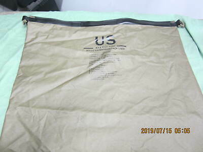 USGI MOLLE Waterproof Pack Liner Large Wet Weather Bag Tan NSN 8465-01-591-7521
