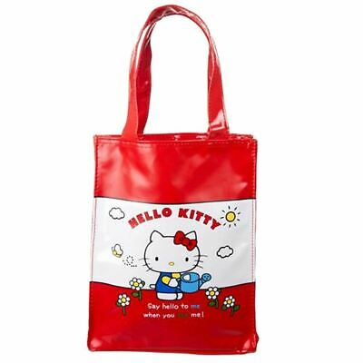 Vintage Hello Kitty Small Tote Shopping Book Bag - Childrens School Cute Cosplay