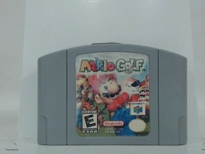 MARIO GOLF Nintendo 64 N64 Acceptable