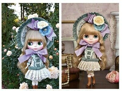 "CWC Top Shop Exclusive Takara Tomy Neo Blythe Doll Clearly Claire 12"" 1/6"