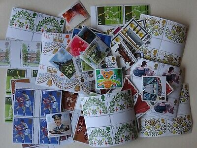 GB mint stamps for postage - £25.00 face value - full gum...(17)