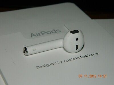 1st Gen Apple AirPods Wireless Bluetooth Earpiece Right(R) Only Without Charger