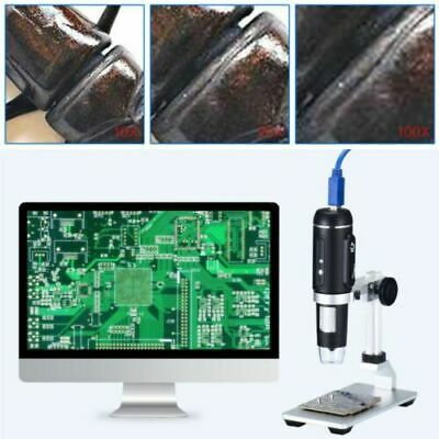 USB3.0 1000X Digital Microscope 5MP HD Camera Electronic Magnifier with Holder n