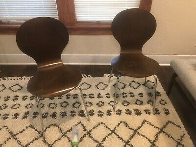 Antique Metal Bentwood Chairs