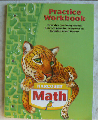 HARCOURT MATH 1ST GRADE 1 PRACTICE WORKBOOK HOMESCHOOL
