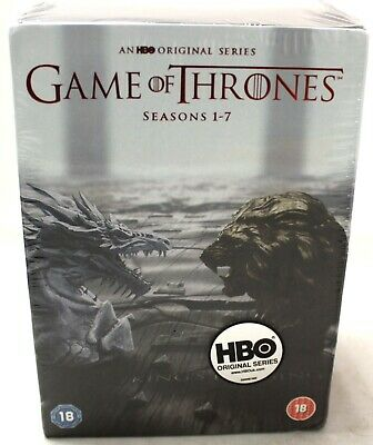 New GAME OF THRONES Complete Season 1-7 DVD Boxset (HBO) - Y99