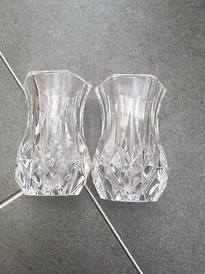 2 Mini Glass Vases!
