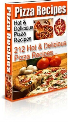 🔥Pizza Recipes Hot & Delicious ☑ eBook PDF + Full Master Resell ☑ GET IT FAST🔥