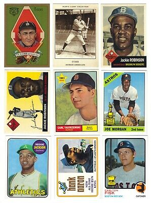 2019 Topps Baseball Series 1 & 2 Iconic Card Reprints Lot of 14 Different Cobb