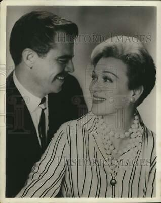 Press Photo Actress Eve Arden and husband Brooks West - syx01310